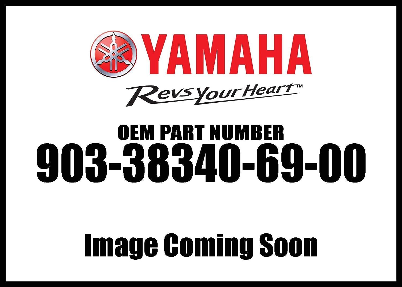 Yamaha 90338-34069-00 PLUG, SPEC'L SHAPE; 903383406900 SPEC'L SHAPE; 903383406900