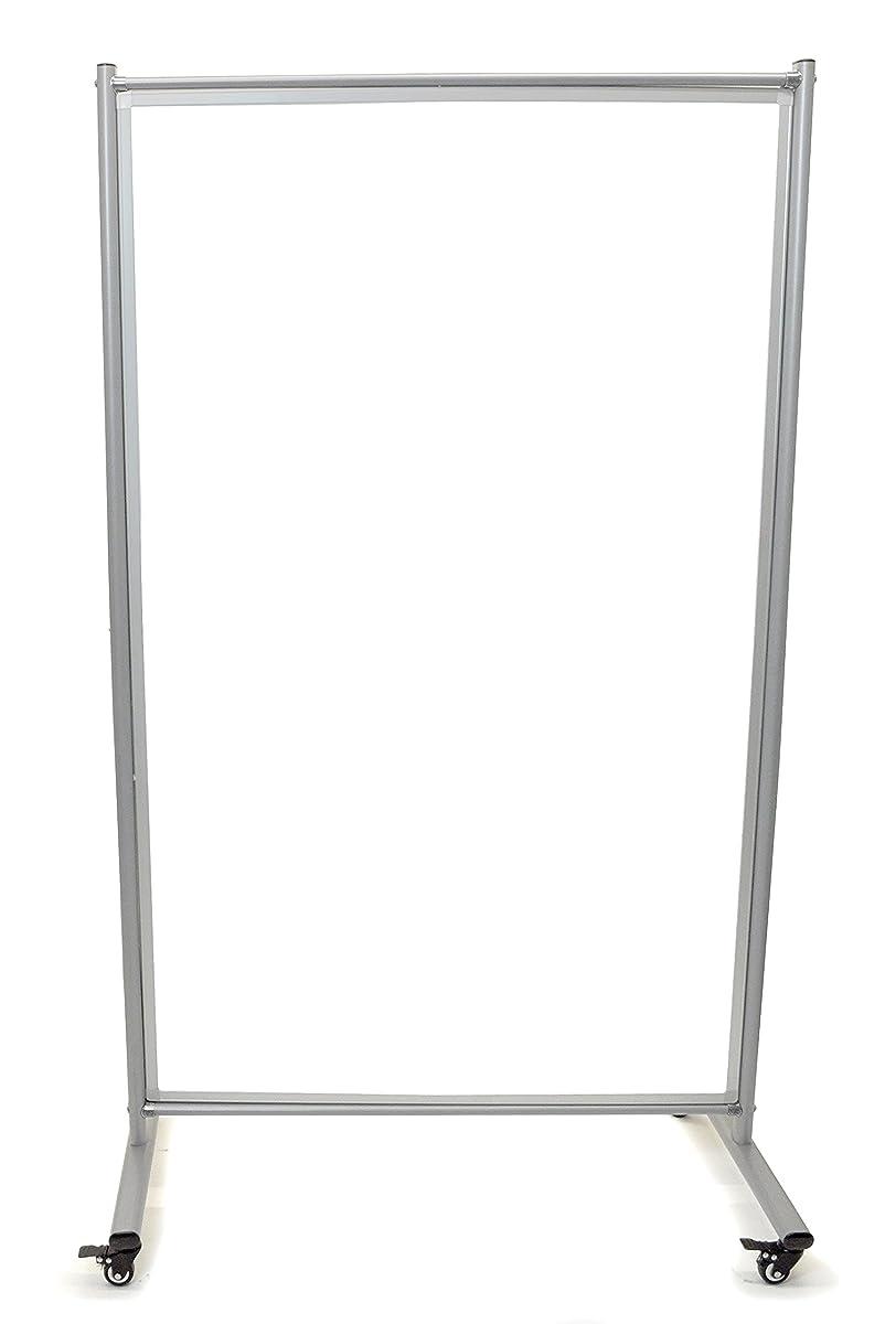 Mobile Magnetic Whiteboard Room Divider (1)
