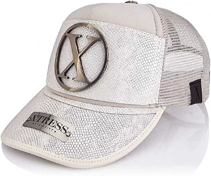 Gorra blanca en piel blanca para hombre y mujer.: Amazon.es: Ropa ...