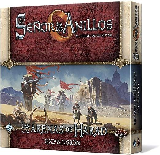 Fantasy Flight Games El Señor de los Anillos - Las Arenas de Harad: el Juego de Cartas (Edge Entertainment EDGMEC01): Amazon.es: Juguetes y juegos