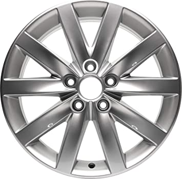 Partsynergy Replacement For New Aluminum Alloy Wheel Rim 18 Inch Fits 12-15 Volkswagen Passat 5-108mm 10 Spokes