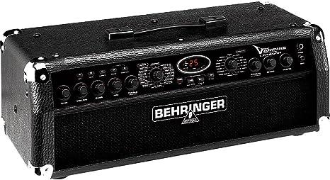 Behringer lx1200h V de Ampire Guitarra Amplificador topteil (120 W ...
