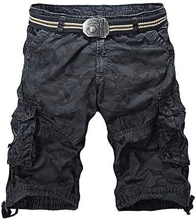 Newfacelook De los hombres Combate Verano Causal Carga Pantalones ...