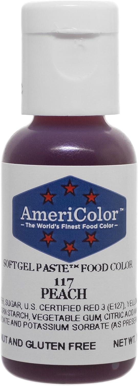 AmeriColor Peach Soft Gel Paste Food Color, .75 oz