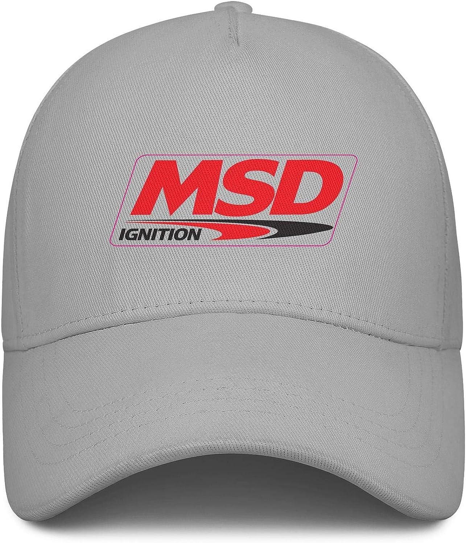 1MSD-Decal for Men Classic Baseball Hat Womens Travel Summer Hats