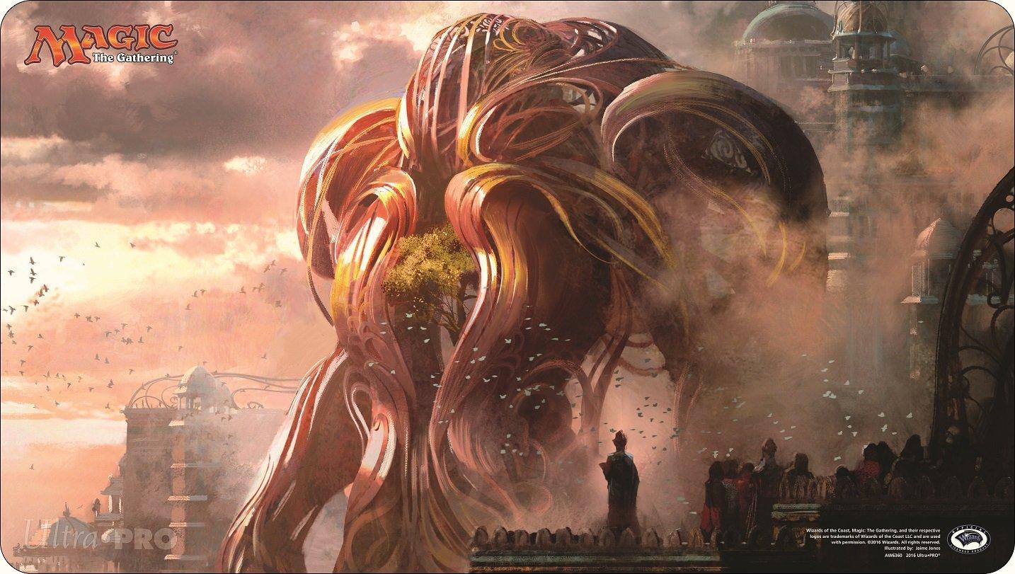 Official Magic: The Gathering ''Verdurous Gearhulk'' Playmat
