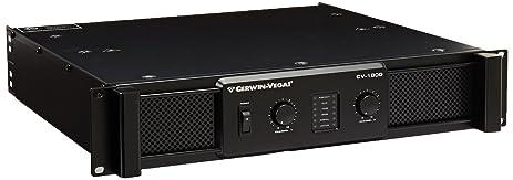 Amazon.com: Cerwin Vega Pro Cv-1800 1800-Watt High-Performance ...