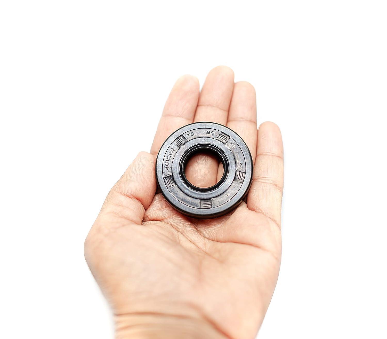 Metric Oil Seal Twin Lip 20mm x 47mm x 7mm
