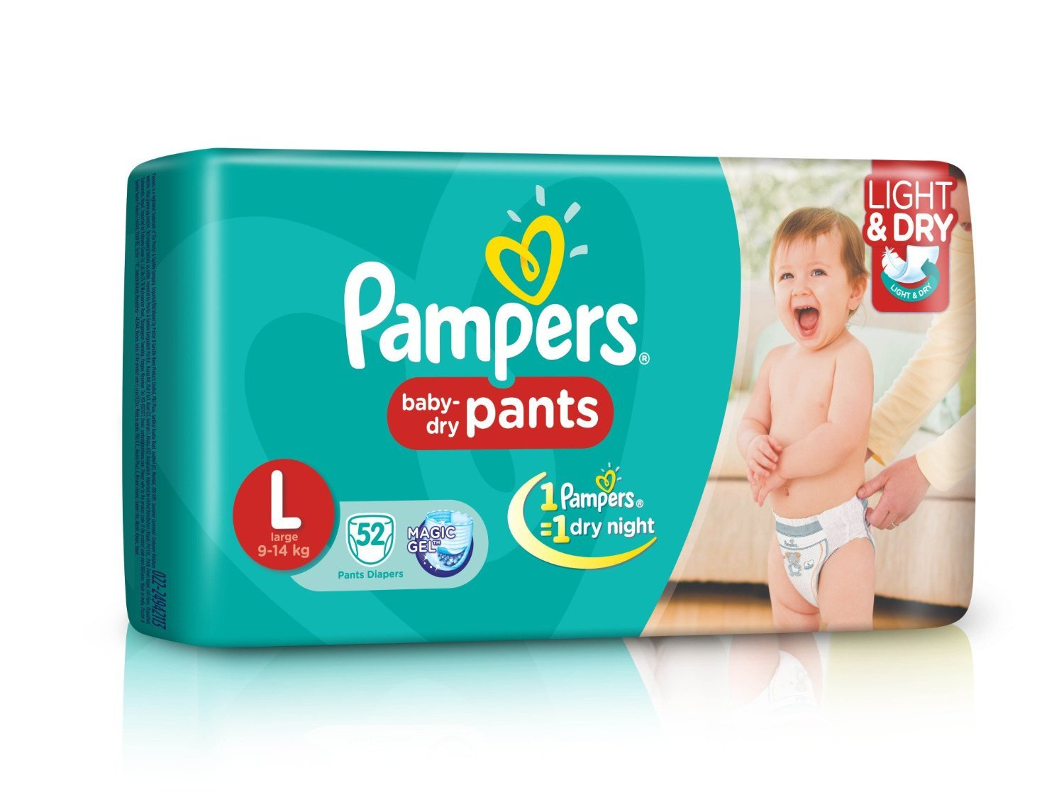 buy pampers large size diaper pants 52 count online at low prices