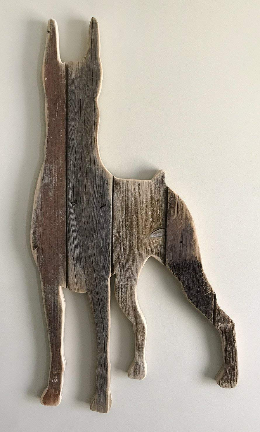 sold-order yours now Doberman Pinscher Wooden Artwork