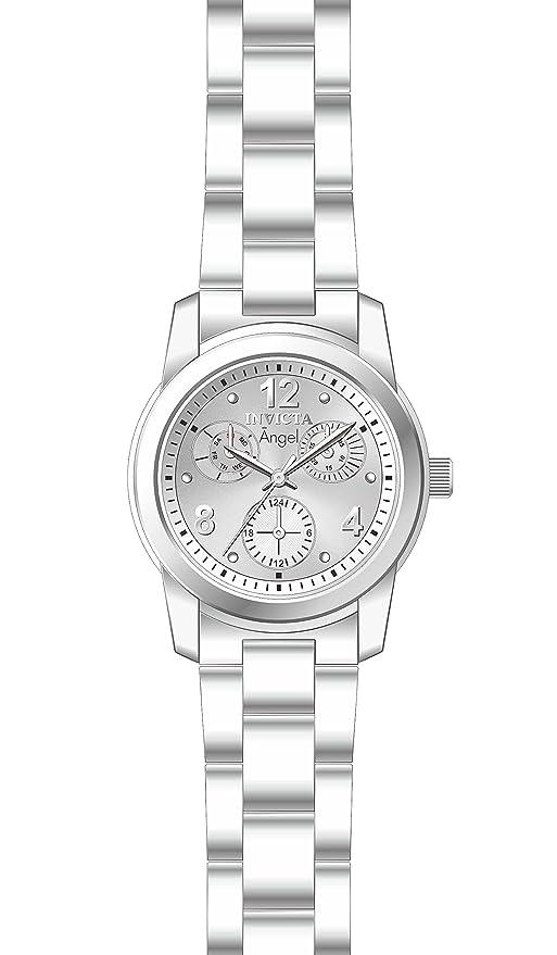 Amazon.com  Invicta Women s Angel Quartz Watch with Stainless-Steel Strap 97cc3daeb24