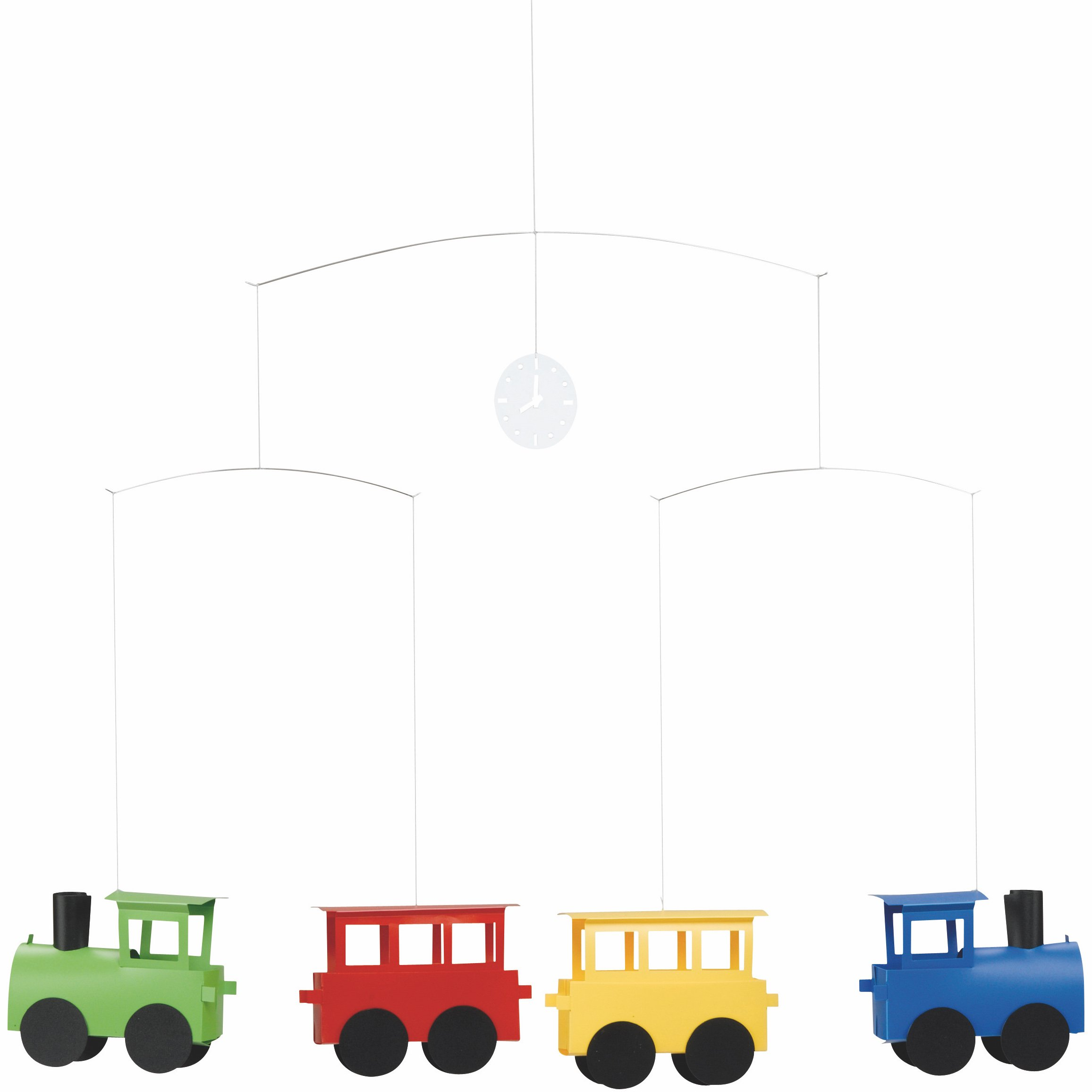 Flensted Mobiles Loco Hanging Nursery Mobile - 16 Inches Plastic