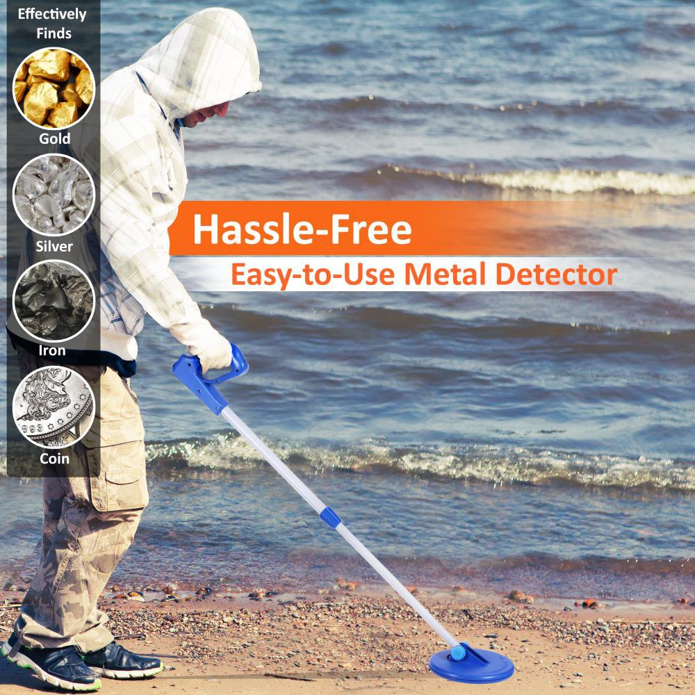 Pyle Treasure Hunting Hassle Free Metal Detector Fun To Findcoins At The Beach Learning And Science Made Garden Outdoor
