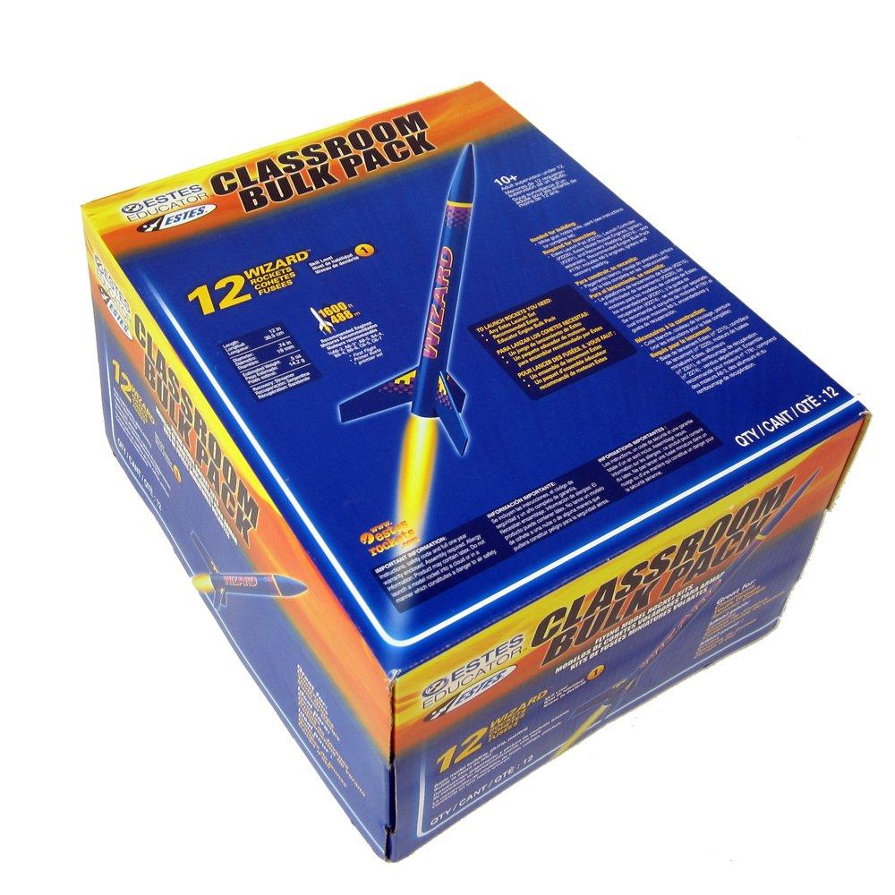 Pack of 12 Estes Wizard Rocket Bulk Pack