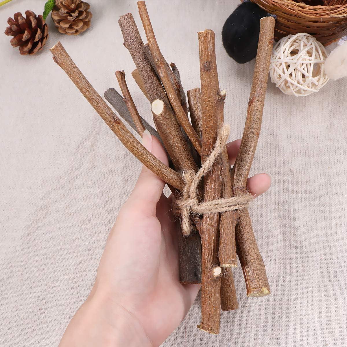 Holibanna ramas de abedul ramitas de abedul naturales centros de mesa artesanales decorativos palos de madera secos accesorios de fotos art/ísticas 15 cm