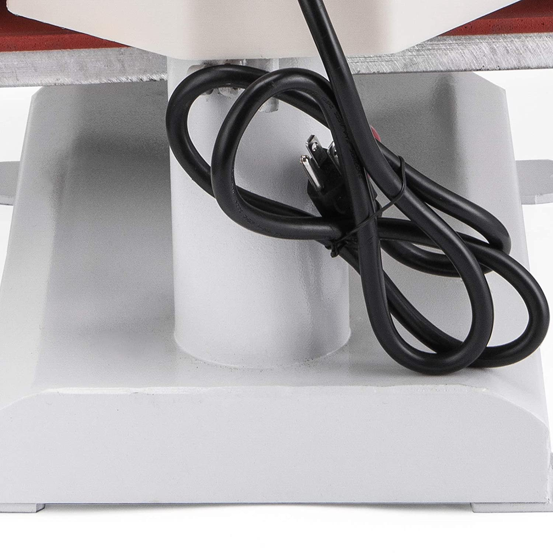 Mophorn Heat Press 15x15 Inch Heat Press Machine 5 in 1 Multifunctional Transfer Combo Swing-Away Heat Press Machine for T Shirts Mug Hat Press LED Digital Controller