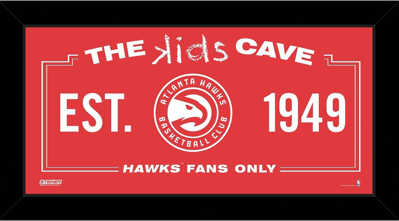 NBA Kids Cave Sign