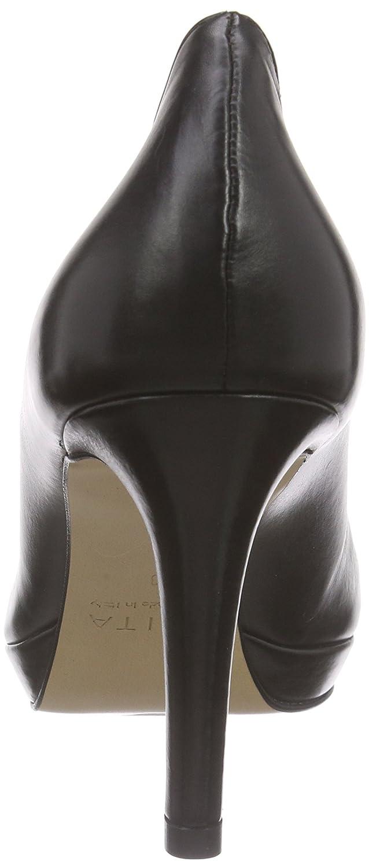 Evita Schuhes Damen Damen Schuhes Pump Pumps Schwarz (Schwarz 10) 004bd2