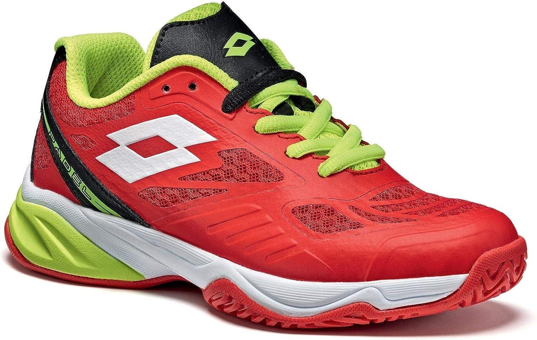 Lotto Superrapida 200 Jr L, Zapatillas de Tenis Unisex Niños