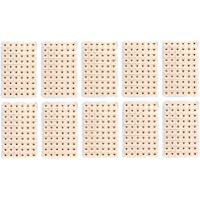 600 Pcs Jetable Oreille Presse Graines Acupuncture Vaccaria Pltre Bean Acupoint Massage Outil
