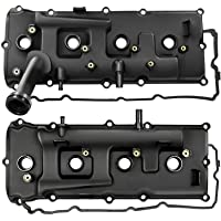 A-Premium Left Right Engine Valve Covers Kit with Gaskets Compatible with Nissan NV2500 NV3500 2012-2017 Armada 2007…