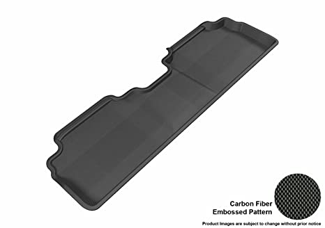 Tan Kagu Rubber 3D MAXpider Second Row Custom Fit All-Weather Floor Mat for Select Ford Escape//Mazda Tribute Models