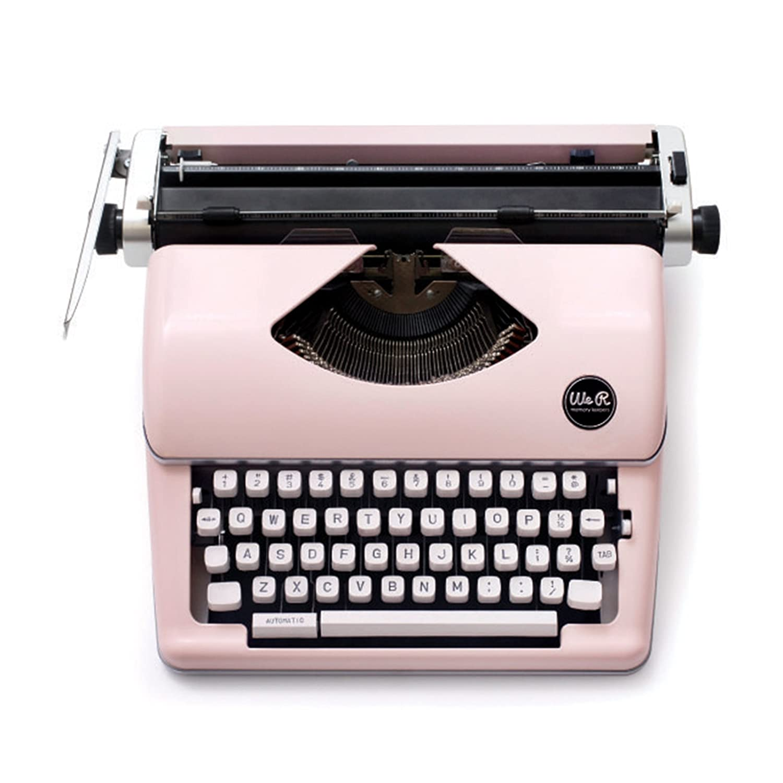 We R Memory Keepers Máquina de Escribir Typecast Typewriter Rosa: Amazon.es: Hogar