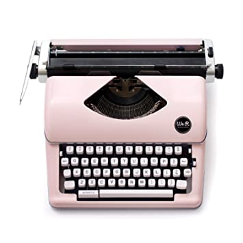 We R Memory Keepers Máquina de Escribir Typecast Typewriter Rosa: Amazon.es: Hogar