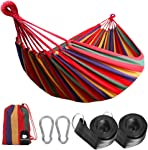 Anyoo Single Cotton Outdoor Hammock Multiples