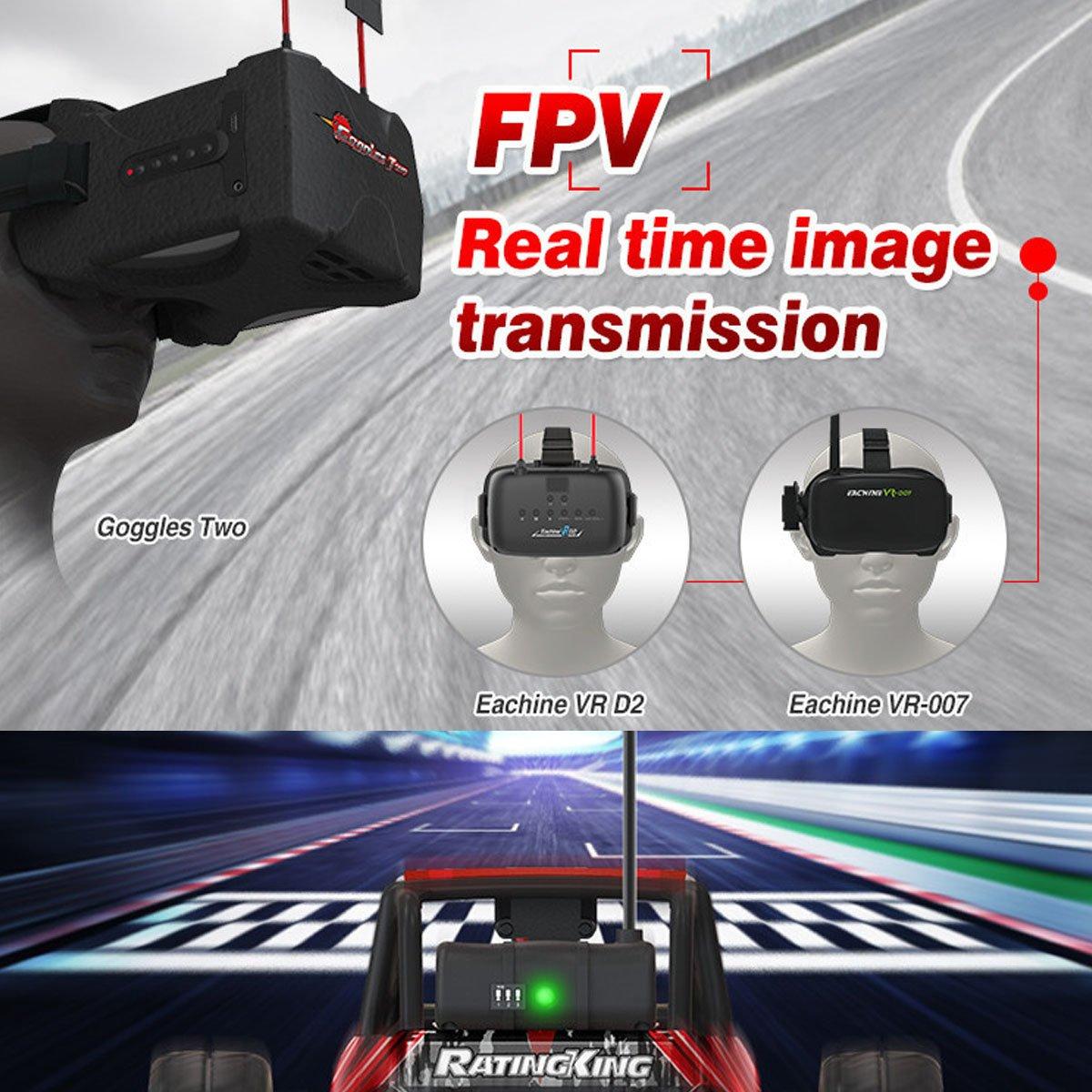 Rc Fpv Racing Car Eachine Ratingking F14 Real Time