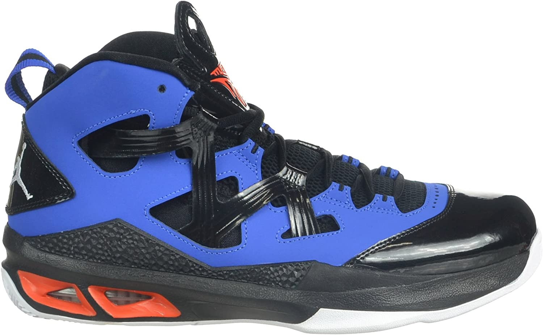 Amazon.com | Jordan Air Melo M9 Carmelo Anthony Men's Shoes Black ...