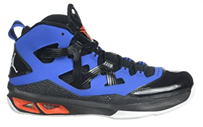 timeless design 364d6 b5e12 ... free shipping jordan air melo m9 carmelo anthony mens shoes black blue  orange black blue 2e81d