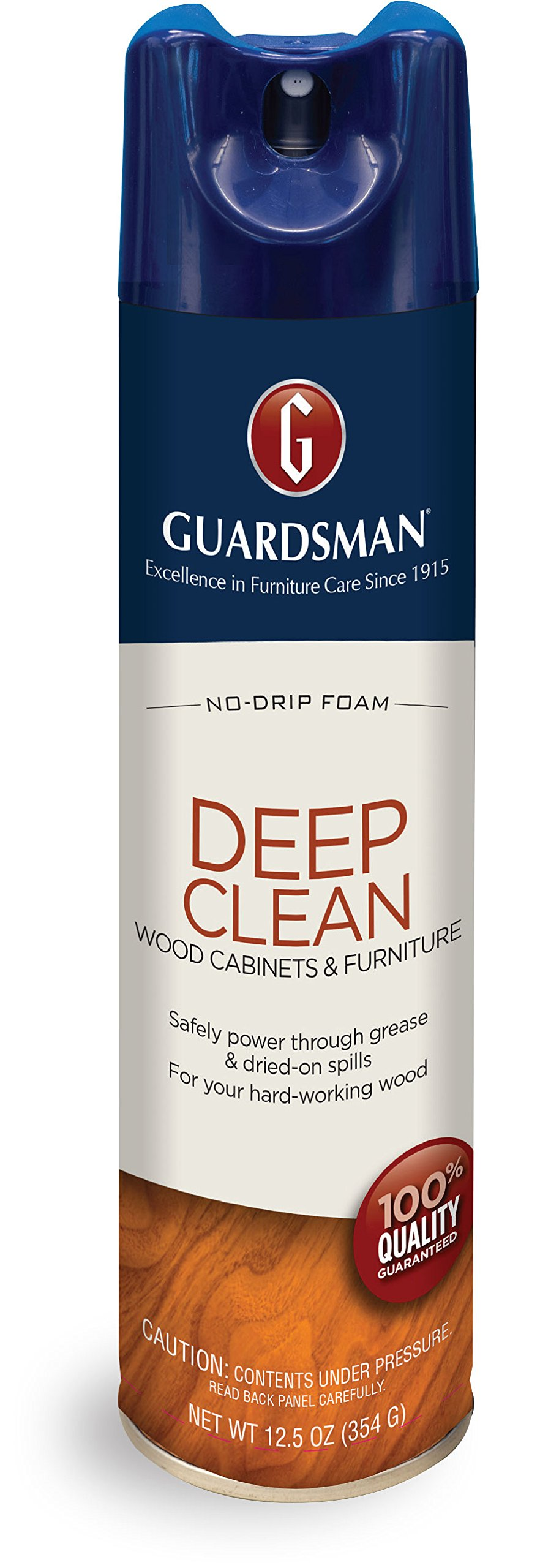 Guardsman Deep Clean - Purifying Wood Cleaner - 12.5 oz Streak Free, Doesn't Attract Dust 460500 by Guardsman (Image #1)