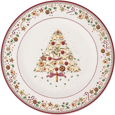 V /& B Winter Bakery Delight Platzteller rot bunt 32 cm Speiseteller 2680