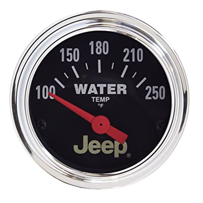 Auto Meter 880241 Jeep Electric Water Temperature Gauge: Automotive