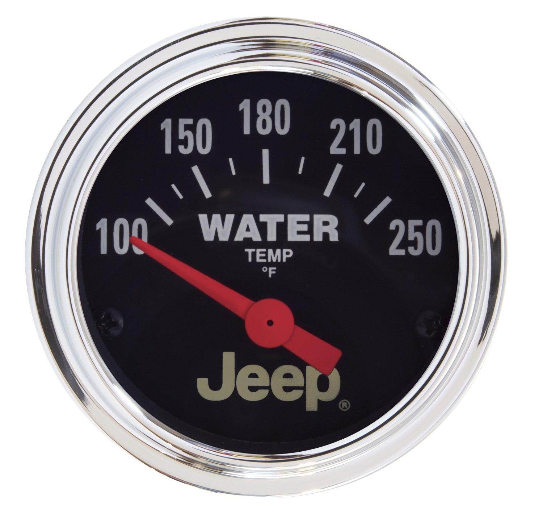 Auto Meter 880241 Jeep Electric Water Temperature Gauge