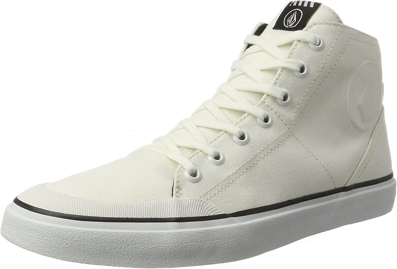 Volcom Mens Fi Hi Top Canvas Fashion Shoe Skate
