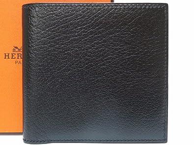 4440e4fe9a11 Amazon | (エルメス) HERMES 二つ折り財布 シェーブル メンズ 0443 中古 ...