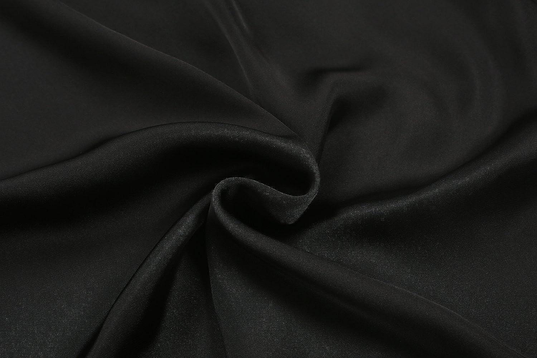 3cc85f3f55c9 CRAVOG Mode Elégante Lingerie Jupon Jupe Longue Satin Ourlet Dentelle Mi  Robe Glisser Avec Taille élastique. Agrandir l image