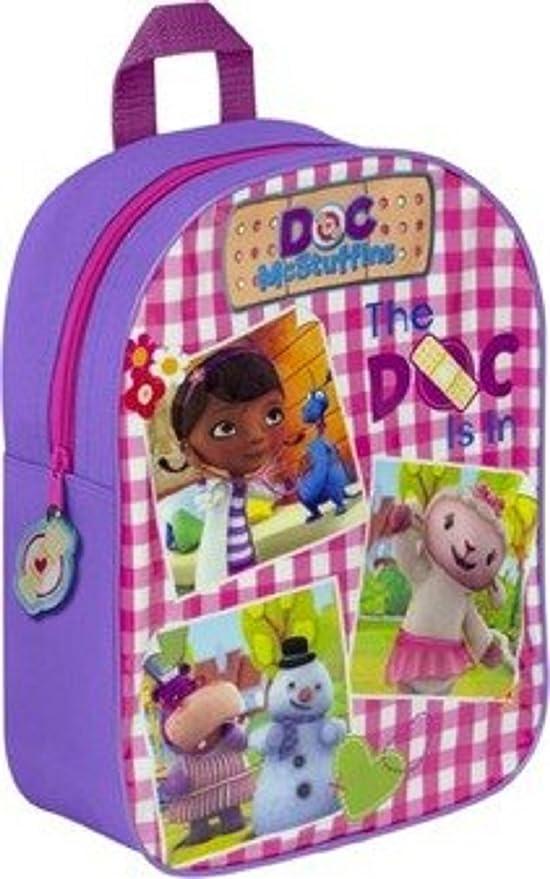 4 Liters Aqua Doc McStuffins Childrens Backpack
