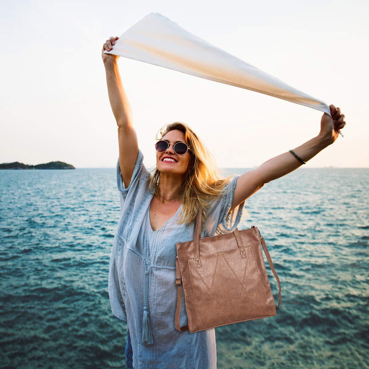 PINGHE Sac /à Bandouli/ère /à la Mode pour Femmes Messenger Sac Sac Imperm/éable pour Dames Porte-documents Sac /à Provisions