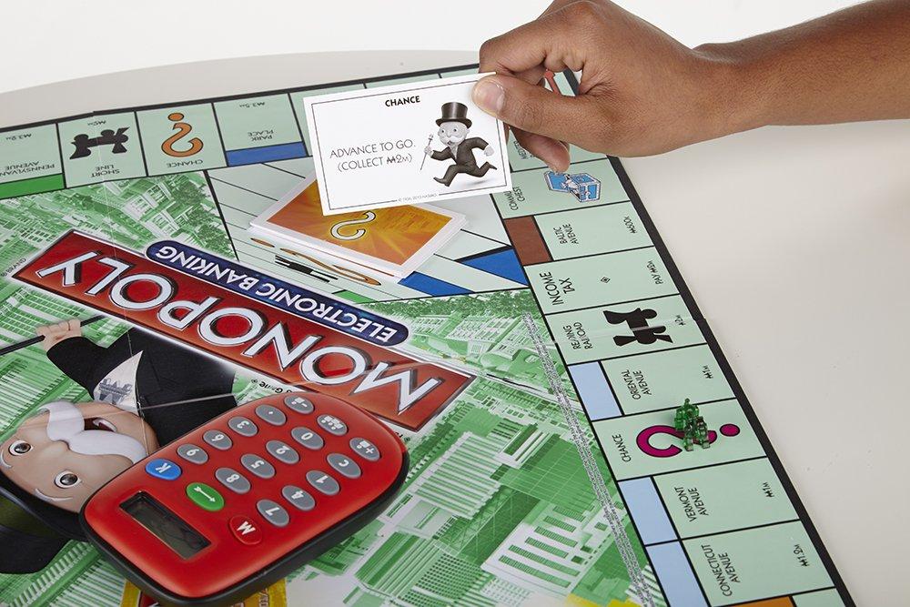 Hasbro Gaming - Juego de Mesa Monopoly, electrónico ...