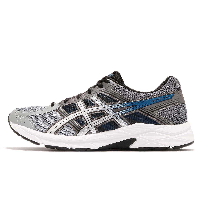 Asics Gel Contend 4, Zapatillas de Deporte para Hombre 44 EU Negro (Carbon/Silver 020)