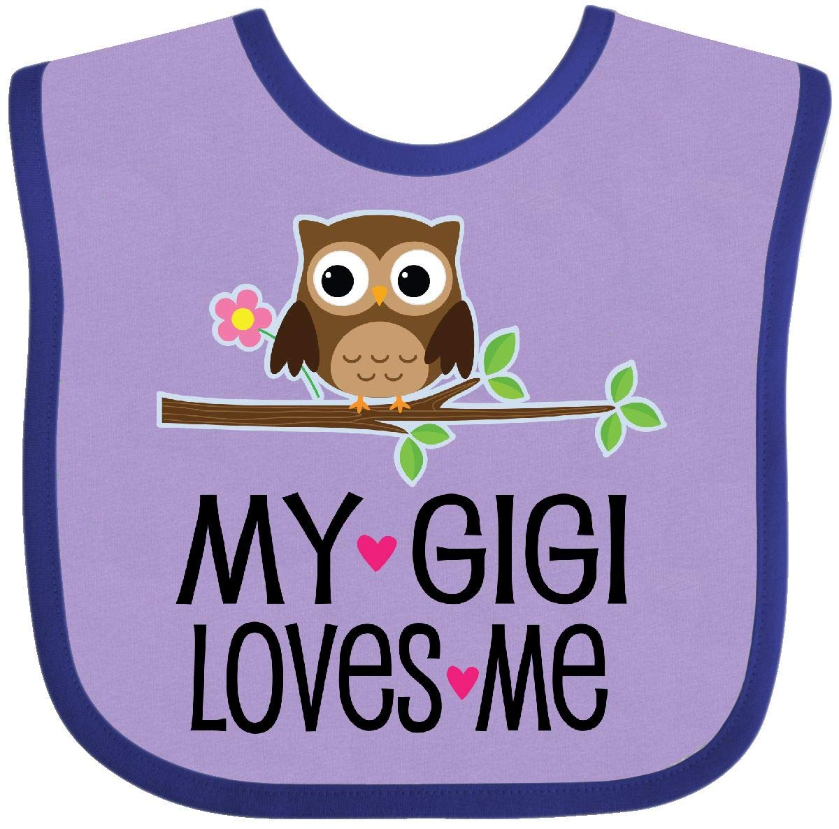 inktastic Cute Pink and Purple Owl Infant Creeper