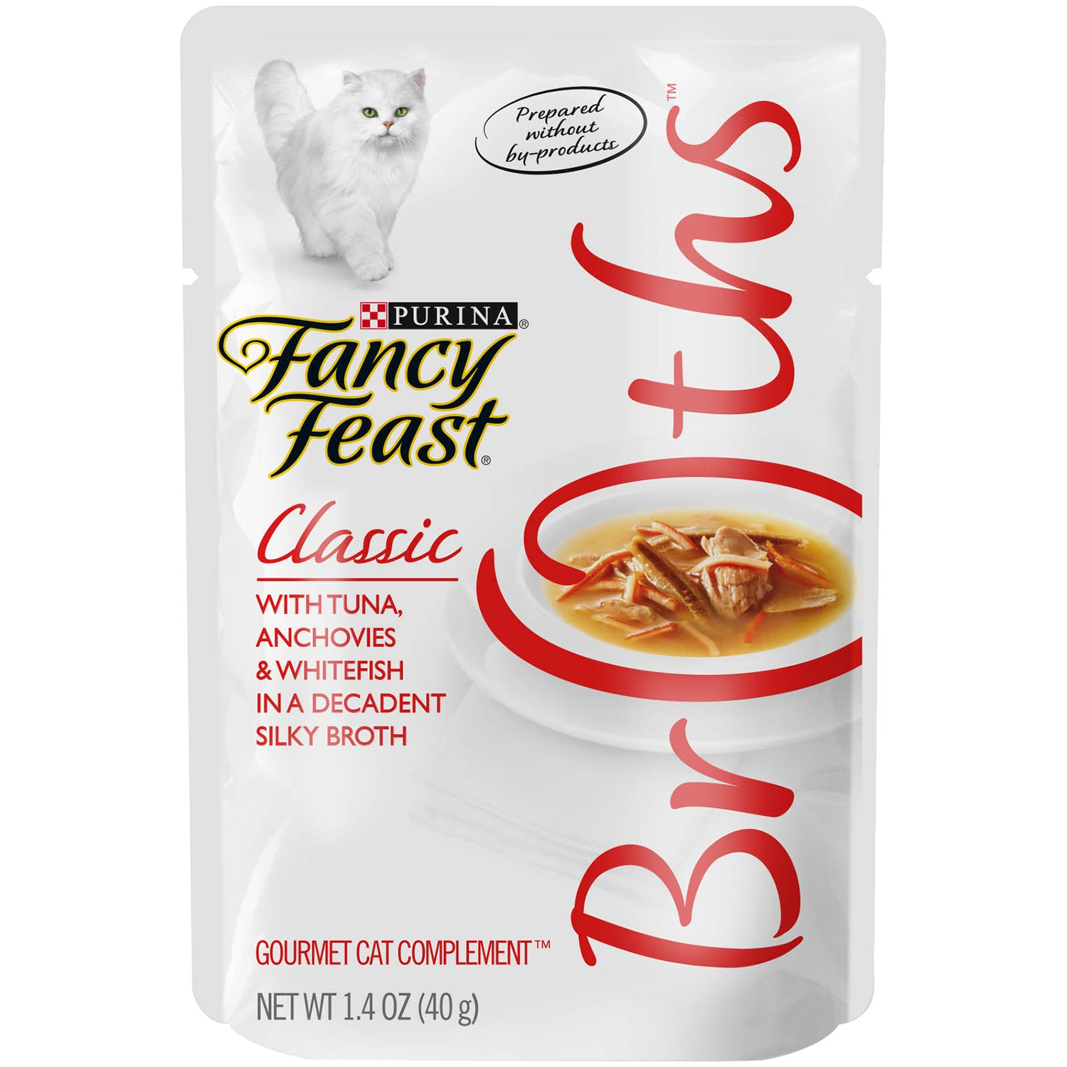 Purina Fancy Feast Classic With Tuna Anchovies & Whitefish Cat Food - (32) 1.4 Oz. Pouch by Purina Fancy Feast
