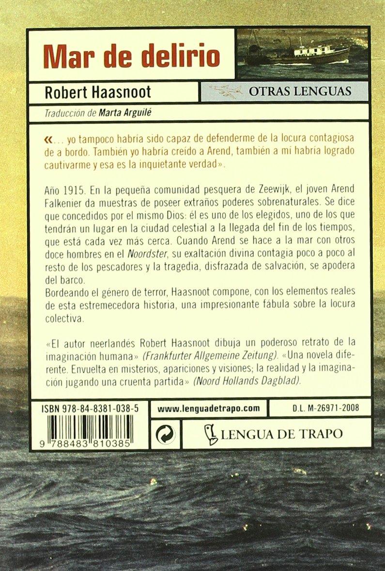 Mar de delirio/ Sea of Insanity (Otras lenguas/ Other Languages) (Spanish Edition)