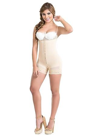 53c3deb00f1df Body Flex Fajas Colombianas Reductoras y Moldeadoras High Compression  Garments After Liposuction Bodysui (Beige