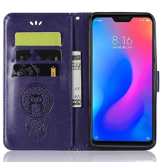 Amazon com: Xiaomi Mi A2 Lite Flip Case, Xiaomi Mi A2 Lite