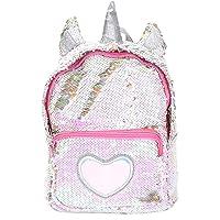 Zaino paillettes, paillettes zaino unicorno zaino carino trendy per bambini scuola scuola zaino ragazza zaino ragazza carina