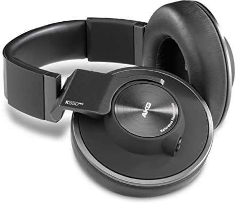 Cuffia AKG K550MKIII HiFi Cuffia Over Ear pieghevole Nero  Amazon.it ... e3f6b4dadb9a